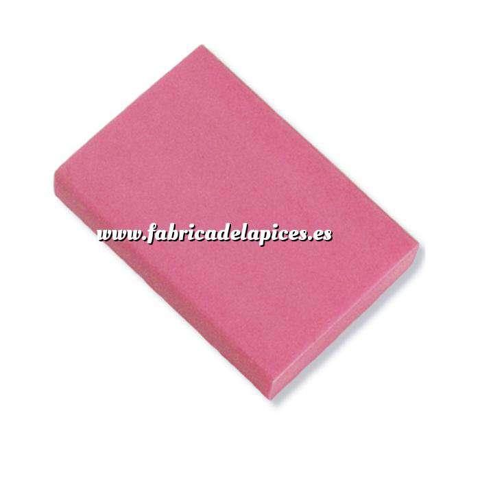 Imagen Gomas de Borrar Goma de Borrar rosa fluorescente