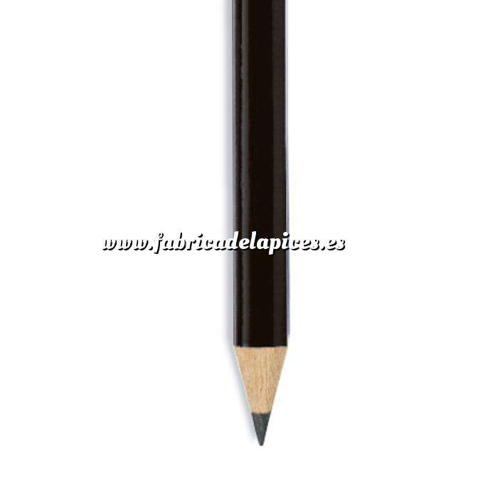 Imagen Redondo Lápiz redondo de madera negro