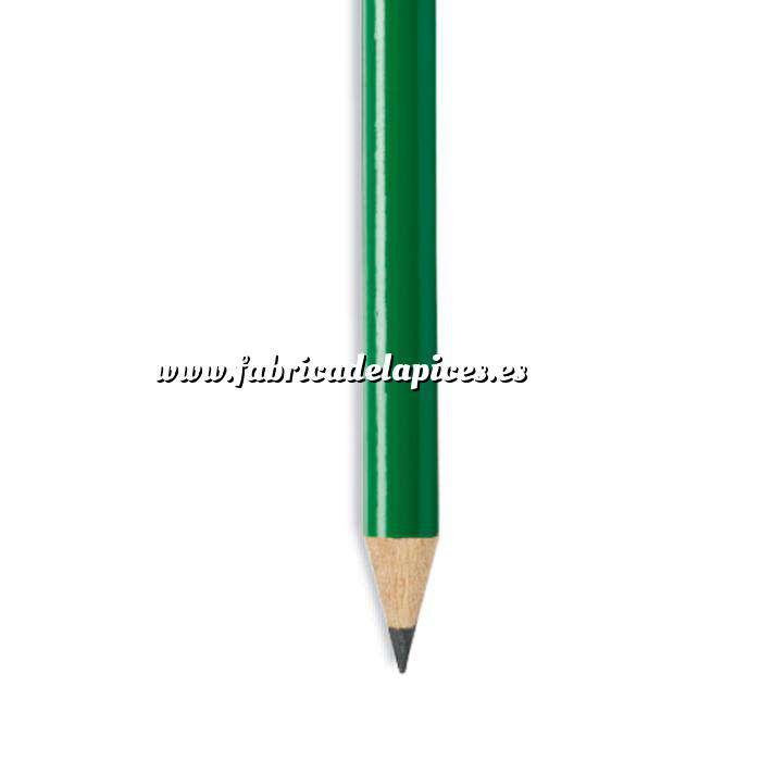 Imagen Redondo Lápiz redondo de plástico verde