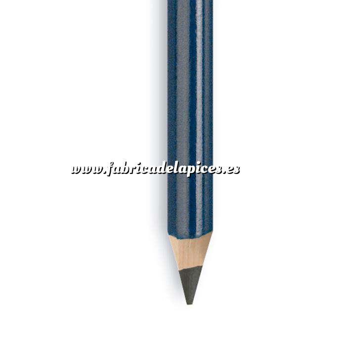 Imagen Triangular Cedro Lápiz triangular de madera cedro azul