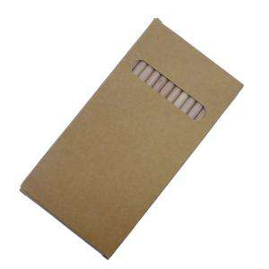 Imagen Cajas cartón Caja 12 lápices de colores en madera