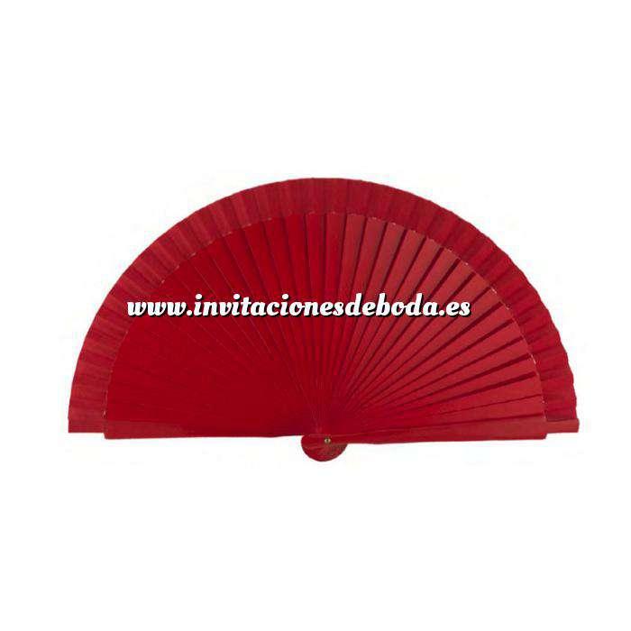 Imagen Abanico Liso 19 cm Abanicos Lisos 19 cm ROJO (Últimas Unidades)-R