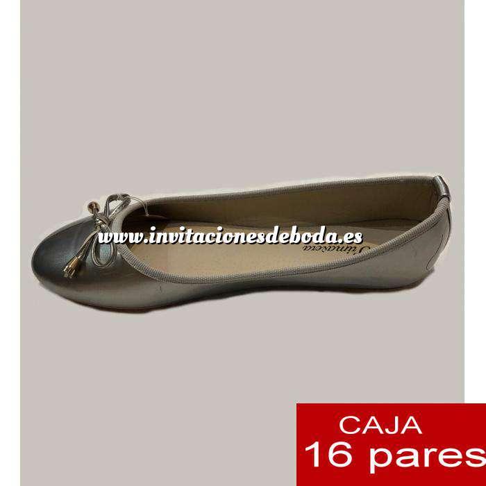 Imagen Alta Calidad Manoletinas PLATEADAS primavera - Caja 16 pares (Últimas Unidades)