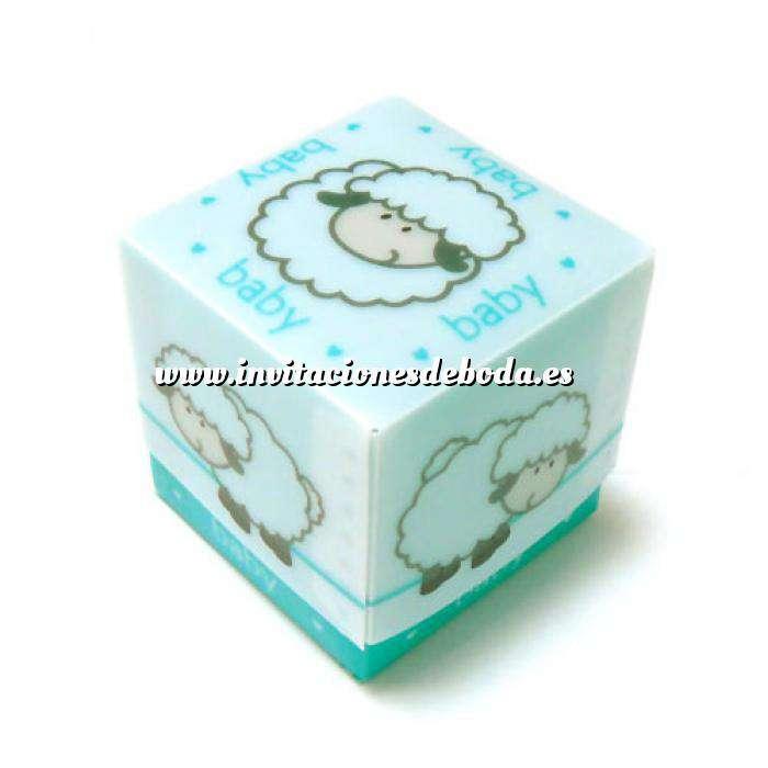 Imagen Cajitas para regalo Cajita Azul Ovejita