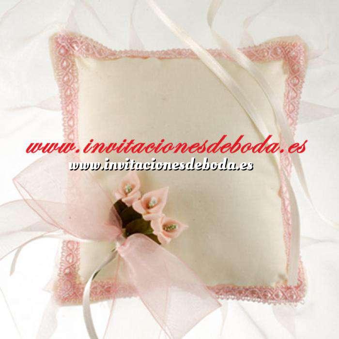 Imagen Cestas y Cojines Cojín anillos Cala Rosa (Últimas Unidades)