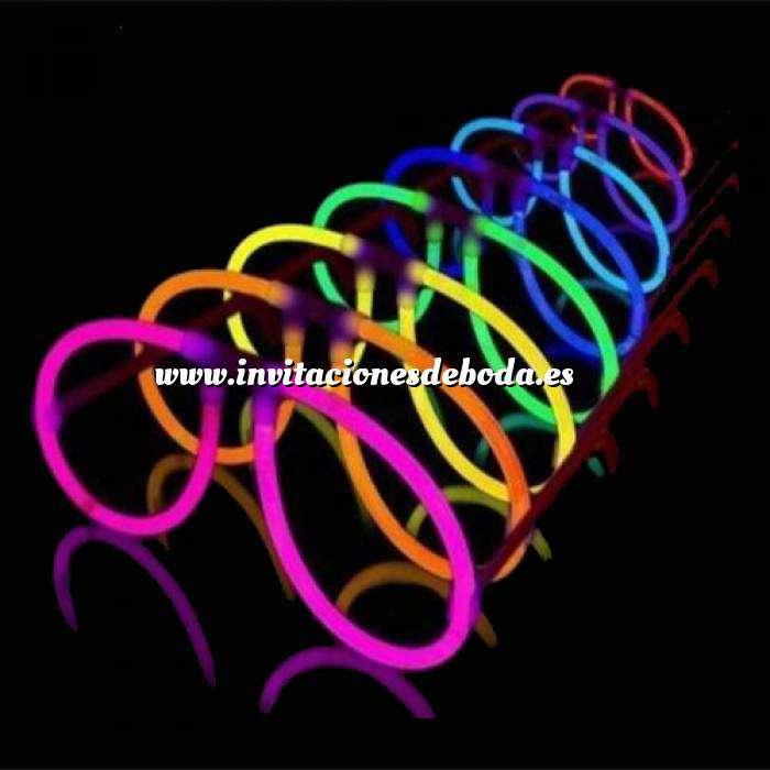 Imagen Detalles para la ceremonia Gafas Luminosas - Barritas Luminosas Fluorescentes Glow Sticks (Últimas Unidades)
