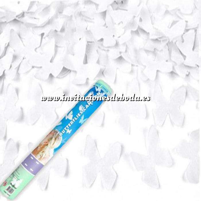 Imagen Detalles para la ceremonia Tubo Mariposas Blancas Explosion 40