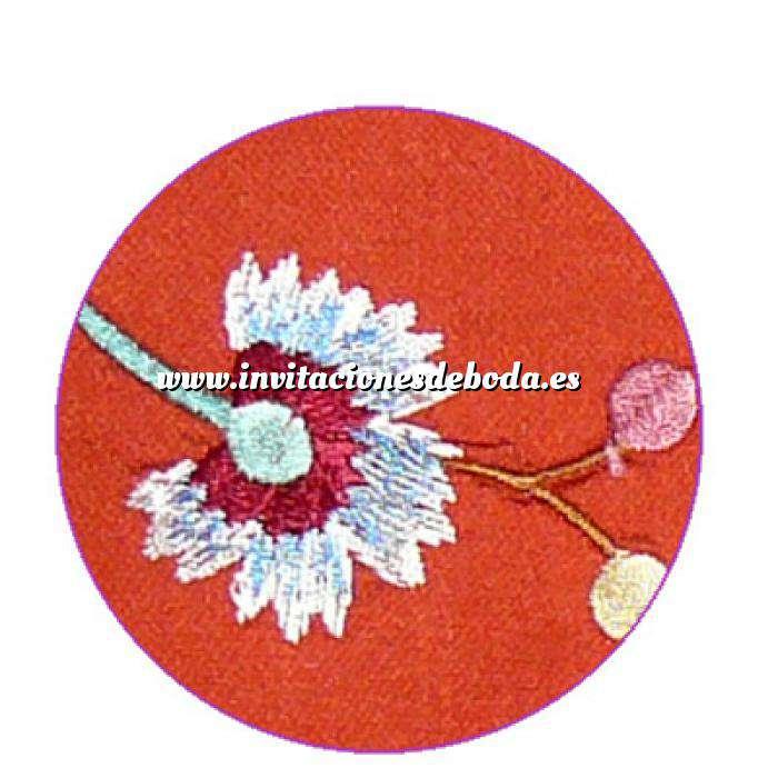 Imagen Floral Libro de firmas floral NARANJA (Últimas Unidades)