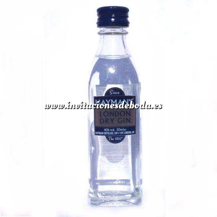 Imagen Ginebra Ginebra Gin Hayman´s London Dry Gin 5cl