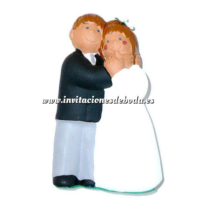 Imagen Novios tarta Clásicos Figura Pastel Novios Caricia