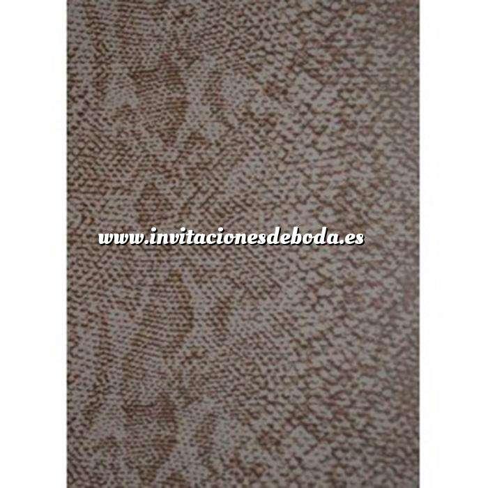 Imagen Textura Libro de Firmas PIEL DE SERPIENTE MARRÓN