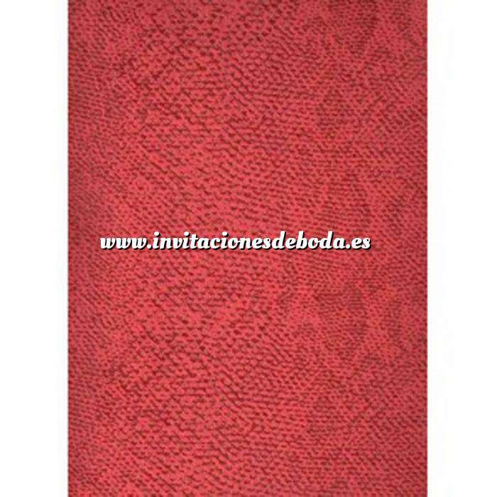 Imagen Textura Libro de Firmas PIEL DE SERPIENTE ROJO
