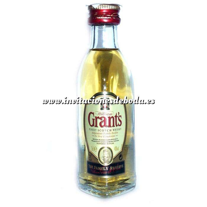 Imagen Whisky Whisky Grants Escocés 5cl