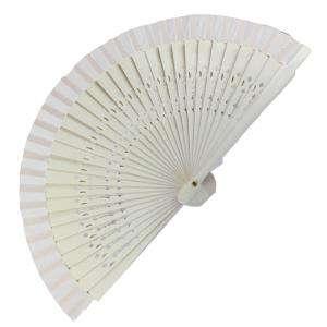 Abanico Calado 16 cm - Abanico Calado 16 cm Blanco (Últimas Unidades)