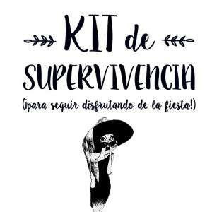 Baño y aromas - KIT de Superviviencia para bodas (ELLAS)