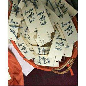 Detalles para la ceremonia - Pack 30 Bengalas Pequeñas con mensaje (sin manipulado)