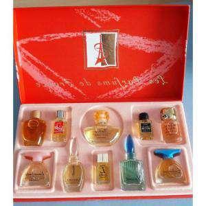 EDICIONES ESPECIALES - Charrier Parfums - Juego de regalo de 10 perfumes Les Parfums de France (Últimas Unidades)