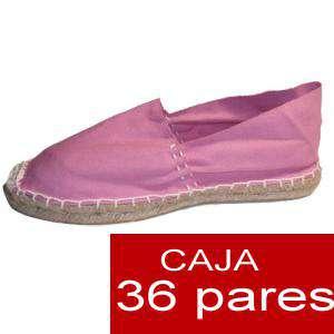 Hombre Cerradas - Alpargatas cerradas HOMBRE color Rosa (TIENDA) caja 36 pares (Últimas unidades)