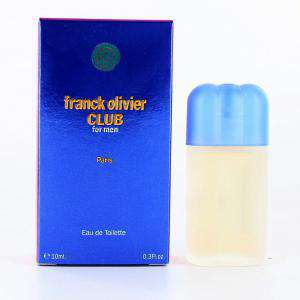 Mini Perfumes Hombre - Club for Men Eau de Toilette by Franck Olivier 10ml. (Últimas Unidades)