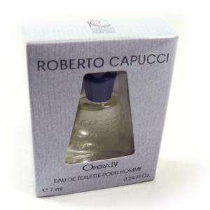 Mini Perfumes Hombre - Opera IV Eau de Toilette by Roberto Capucci 7ml. (Ideal Coleccionistas) (Últimas Unidades)