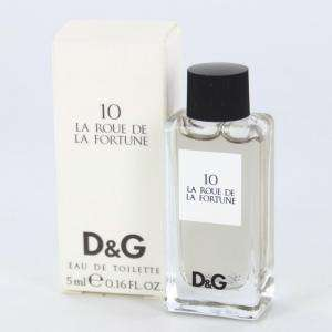 Mini Perfumes Mujer - 10 La Roue de la Fortune Eau de Toilette by Dolce & Gabbana 5ml. (IDEAL COLECCIONISTAS) (Últimas Unidades)