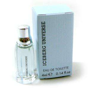 Mini Perfumes Mujer - Iceberg Universe Eau de Toilette for Man 4ml. (Ideal Coleccionistas) (Últimas Unidades)