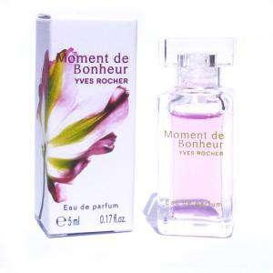 Mini Perfumes Mujer - Moment de Bonheur Eau de Parfum by Yves Rocher 5ml. (Últimas Unidades)
