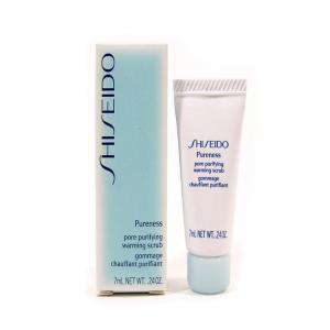 Mini Perfumes Mujer - Shiseido Pureness Pore Purifying Warming Scrub Exfoliante Gel 7 ml (Últimas Unidades)