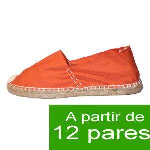 Mujer Cerradas - Alpargatas cerradas MUJER color Naranja - A partir de 12 pares