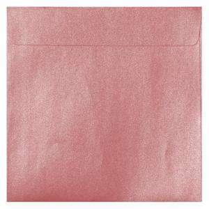 Sobres Cuadrados - Sobre Perlado rosa Cuadrado