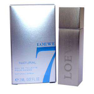 -Mini Perfumes Hombre - Loewe 7 Natural by Loewe - CAJA GRIS PLATA (IDEAL COLECCIONISTAS) (Últimas Unidades)