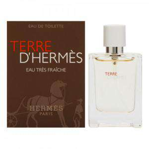 -Mini Perfumes Hombre - Terre D´ Hermes Eau Très Fraiche Eau de Toilette by Hermes 12,5ml. (IDEAL COLECCIONISTAS)