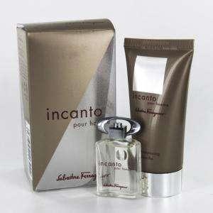 -Mini Perfumes Mujer - Incanto pour homme (Eau de Toilette más Gel Shampooing) by Salvatore Ferragamo (Últimas unidades)