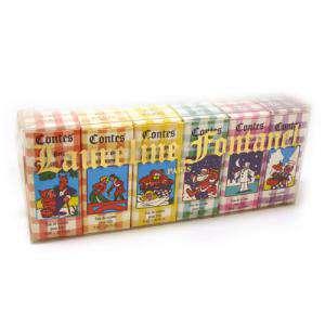 -Mini Perfumes Mujer - Laureline Fontanel (Contes) Eau de toilette - caja de 6 miniaturas 5x5ml. (Ideal Coleccionistas) 2 cajitas mal (Últimas Unidades)