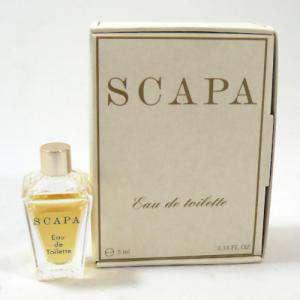 -Mini Perfumes Mujer - Scapa Eau de Toilette by Scapa 5ml. (caja grande) (Ideal Coleccionistas) (Últimas Unidades)