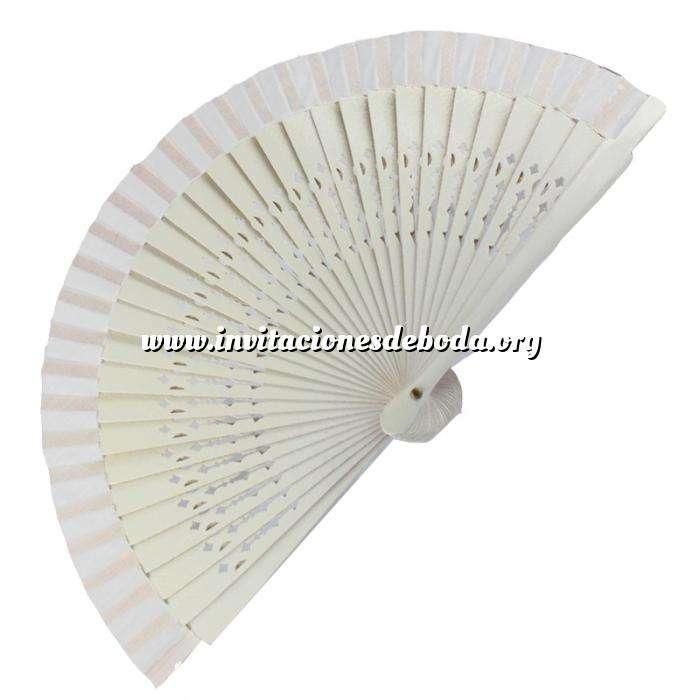 Imagen Abanico Calado 16 cm Abanico Calado 16 cm Blanco (Últimas Unidades)