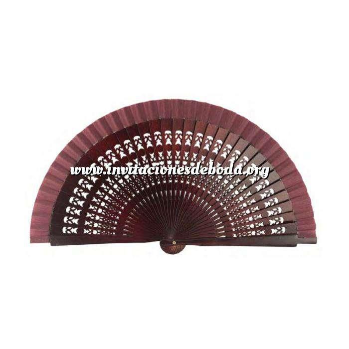 Imagen Abanico Calado 16 cm Abanicos Calados 16 cm Cerezo (Últimas Unidades)
