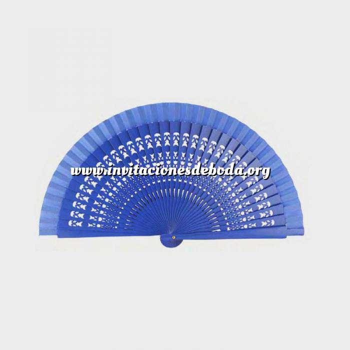 Imagen Abanico Calado 19 cm Abanicos Calados 19 cm AZUL FRANCIA (Últimas Unidades)-R