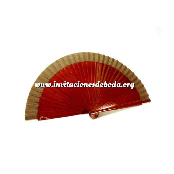 Imagen Abanico Liso 19 cm Abanico Liso 19 cm MARRÓN OSCURO (Últimas Unidades)-R