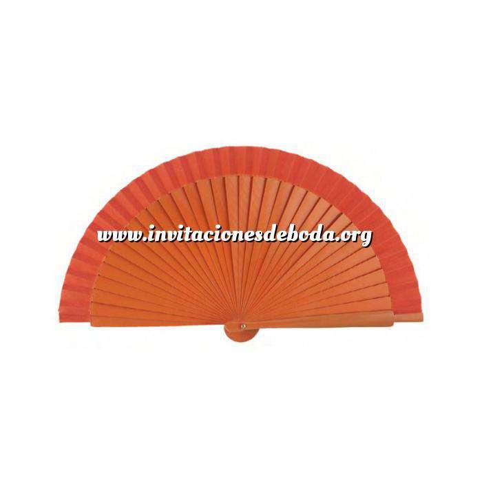 Imagen Abanico Liso 19 cm Abanicos Lisos 19 cm NARANJA (Últimas Unidades)-R
