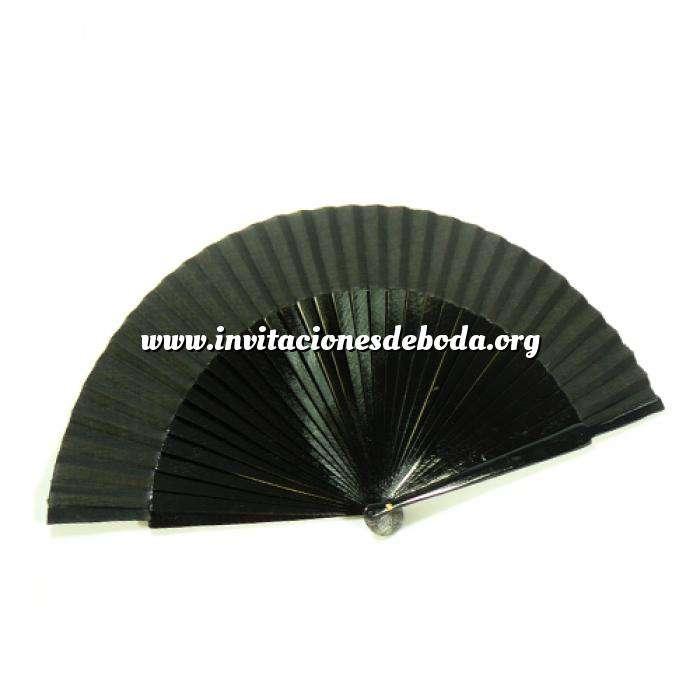 Imagen Abanico Liso 23 cm Abanico Liso 23 cm NEGRO País (Últimas Unidades)