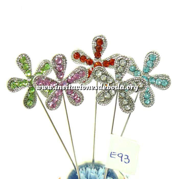 Imagen Alfileres OUTLET Alfiler especial 93 (Margarita Cristal Colores) - DESCATALOGADO (Últimas Unidades)