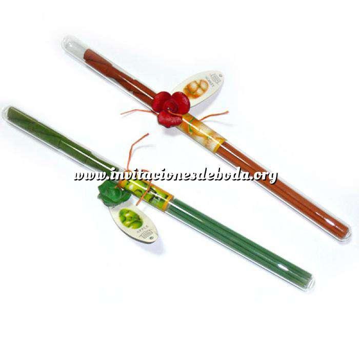 Imagen Baño y aromas Incienso en tubo de cristal (Últimas Unidades)