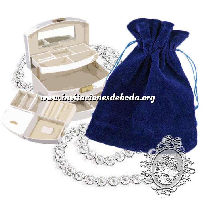 Imagen Bolsa de Antelina 11x15 Bolsa de Antelina Azul 11x15 capacidad 11x13 cms
