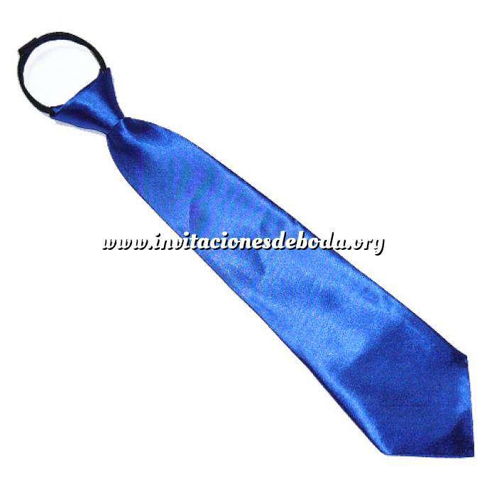 Imagen Detalles para la ceremonia Corbata para niños con cremallera (Últimas Unidades)