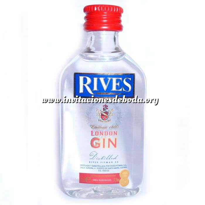 Imagen Ginebra Ginebra Rives London Gin 5cl