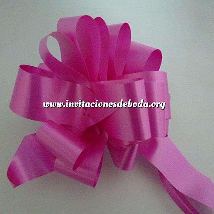 Imagen Lazos Flor-Lazo Decoración Mod 13 - FUCSIA (Últimas Unidades)