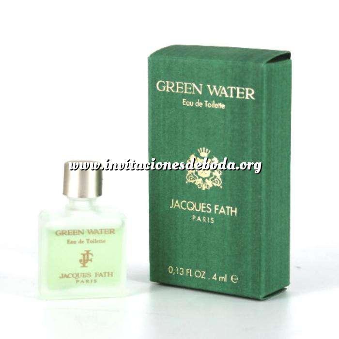 Imagen Mini Perfumes Hombre Green Water Eau de Toilette by Jacques Fath Paris 4ml. (Últimas Unidades)