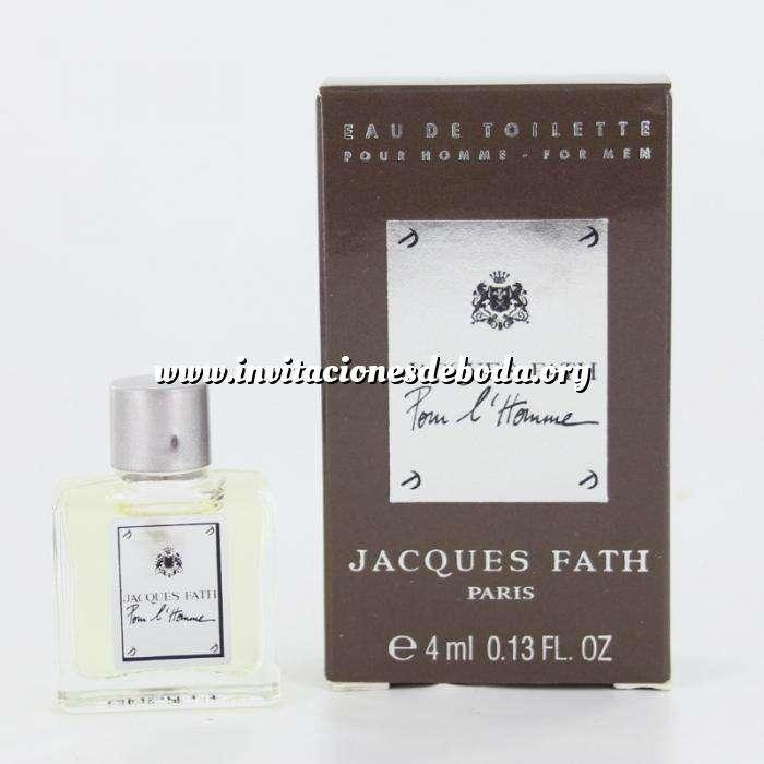 Imagen Mini Perfumes Hombre Jacques Fath Pour L Homme Eau de Toilette by Jacques Fath Paris 4ml. (Últimas Unidades)