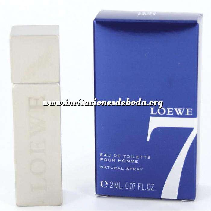 Imagen Mini Perfumes Hombre Loewe 7 Eau de toilette by Loewe - CAJA AZUL 2ml. (IDEAL COLECCIONISTAS) (Últimas Unidades)